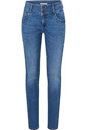 Timezone Damskie spodnie typu slim Enyatz, Ultra Bright Blue Wash, 30W x 30L
