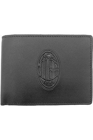 AC Milan 141801, portfel ze skóry, oficjalny produkt dla mężczyzn, , 125 x 95 x 30 mm