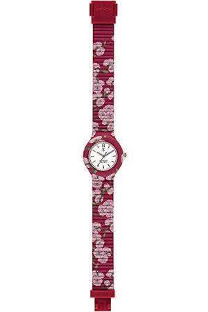 Hip Watches - damski zegarek na rękę Hip HWU0863 - I Love Japan Kollektion - bransoletka silikonowa - 32 mm obudowa - wodoszczelny - mechanizm kwarcowy - Cherry