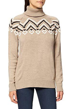 LTB Damski sweter Cenade, Greige Black White Print 12554, XL