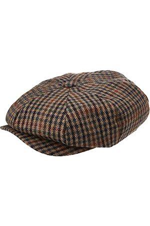 Hackett Męska czapka Bakerboy Glen Hat, 8CITAN/MULTI, M