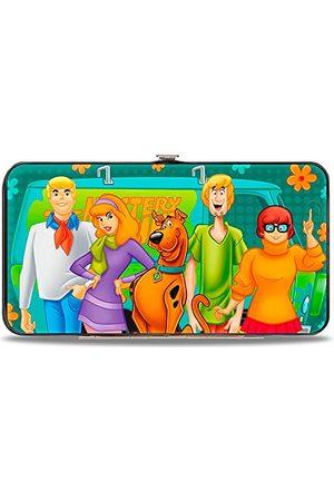 Buckle Unisex-portfel zawias dla dorosłych - Scooby Doo, wielobarwny, Jeden rozmiar