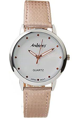 Arabians Męski analogowy zegarek kwarcowy ze skórzanym paskiem DBP2262R
