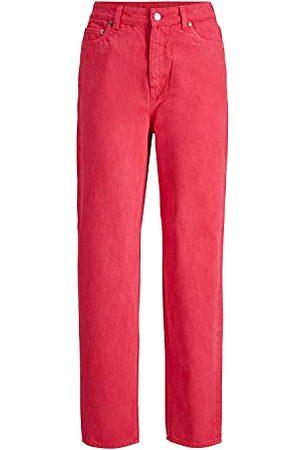 JACK & JONES Women's JJXX JXLISBON MOM HW AKM NOOS Jeans, Bright Rose, 24/30