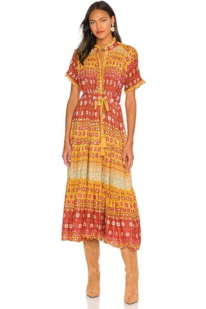 Free People Rare Feeling Dress in - Yellow. Size L (also in M, S, XS).