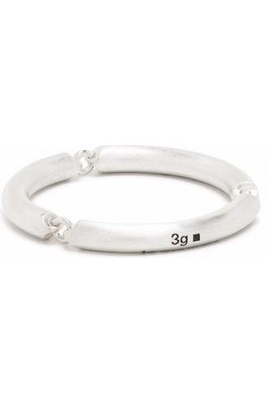 Le Gramme Pierścionki - 3g brushed sterling 3 link ring