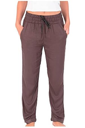 Hurley Damskie spodnie zwężane w zwężane nogawki Easy Pant luźne, Vintage , S