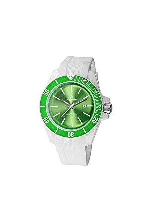 Radiant Mężczyzna Zegarki - Męski analogowy zegarek kwarcowy z kauczukowym paskiem RA166608_Verde