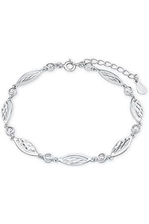 Amor Bransoletka dla kobiet, srebro wysokiej próby 925, cyrkonia